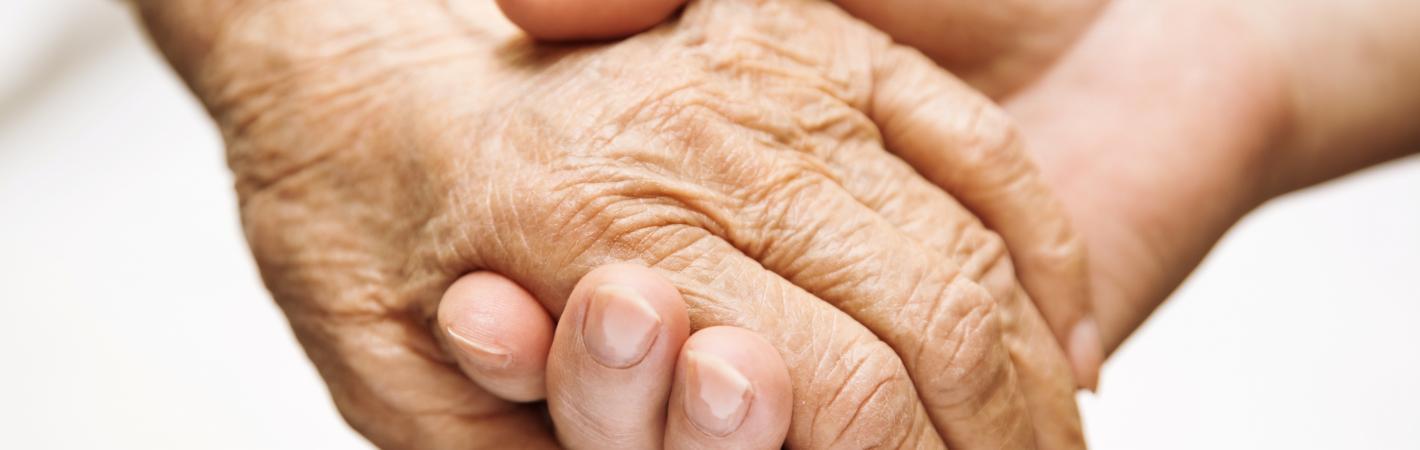 older younger hands